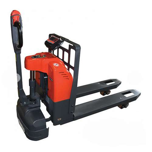 transpalette direct electrique peseur 1,5 tonnes transport