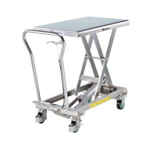 table elevatrice fimm inox 150 kg simple ciseaux